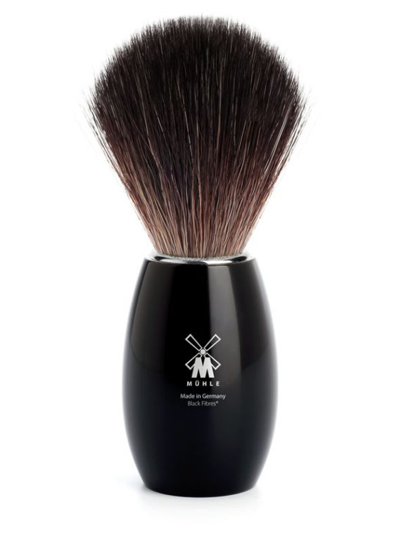 MÜHLE Scheerkwast Fibre® (Maat M) Zwart