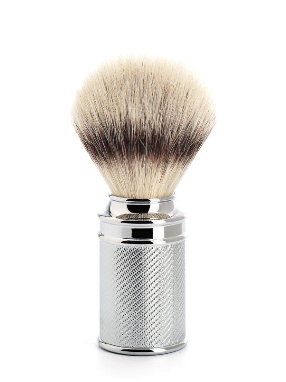 Scheerkwast Silvertip Fibre® - Maat M - Safety Razor - klassieke look verkrijgbaar via de scheerkist