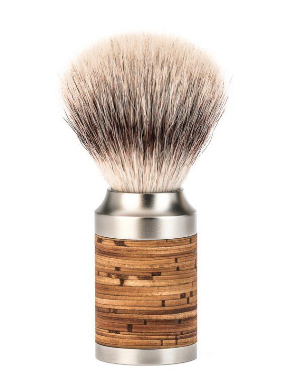 Scheerkwast Roestvrij staal (Silvertip Fibre®) - Maat M