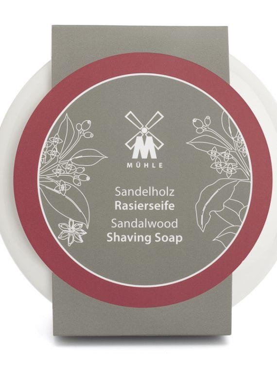 Sandalwood Scheerzeep 65g