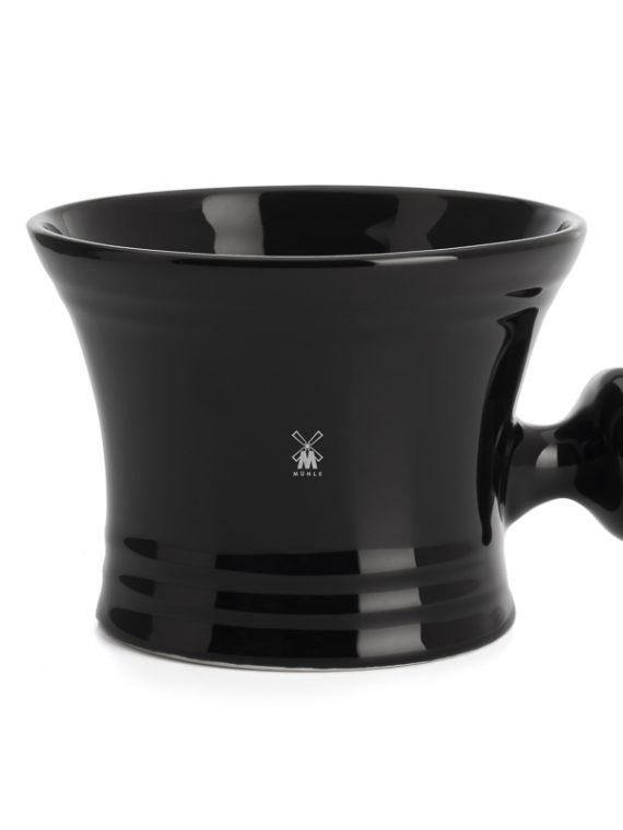 Scheerkom Zwart porcelein