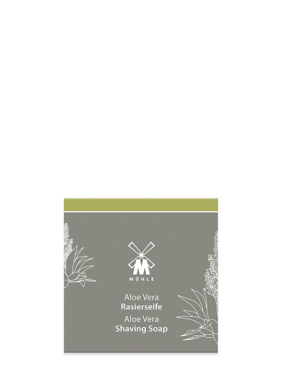 Aloe Vera Scheerzeep 65g - Navulverpakking -