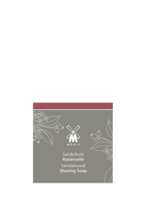 Sandalwood Scheerzeep 65g - Navulverpakking -