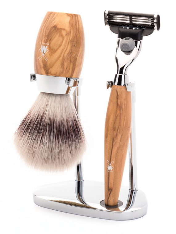 Scheerset - 3-delig - Silvertip Fibre® - Kosmo Mach3